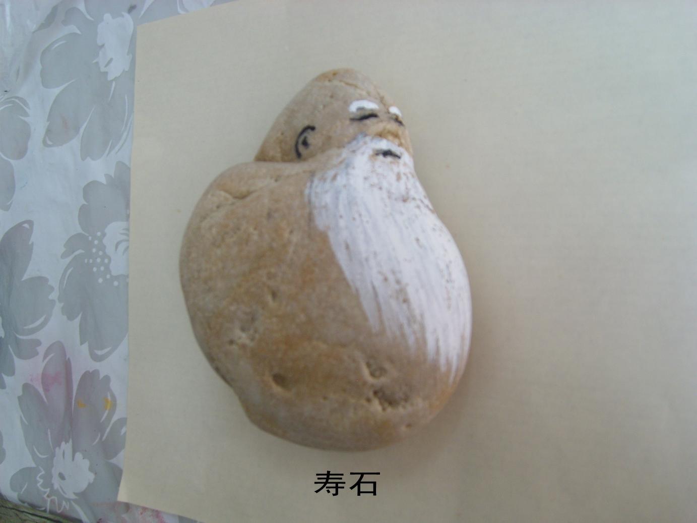 石头画图片大全_纯手工绘制【我画的手绘石头画创意石头工艺趣画